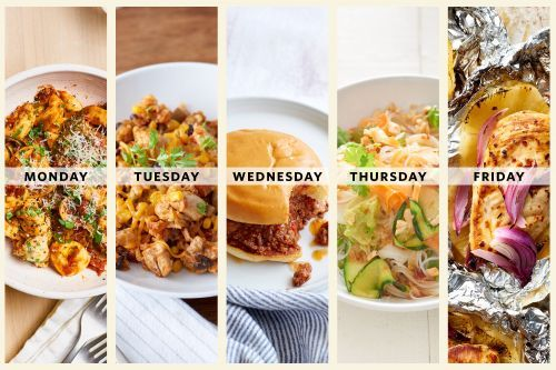 Next Week's Meal Plan: 5 Super Easy Dinners for the New Cook