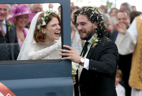 'Game of Thrones' co-stars Kit Harington and Rose Leslie wed in fairy tale ceremony