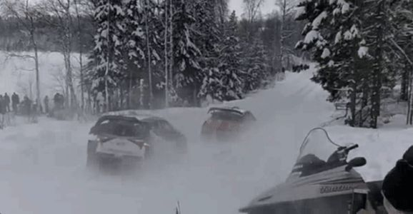 Extremely Rare World Rally Championship Pass Goes All Wrong