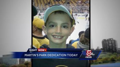 New park honors youngest marathon bombing victim, Martin Richard