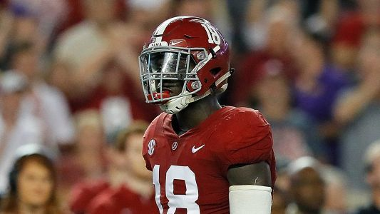 Alabama LB Dylan Moses 'out indefinitely' after suffering foot injury