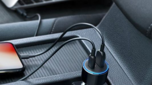 This Anker Car Charger Includes USB-C Power Delivery For Your Laptop or Switch