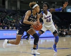 No. 1 Notre Dame passes first test, tops No. 15 DePaul