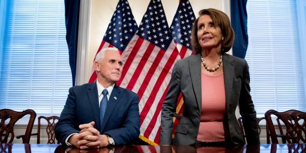 Nancy Pelosi boots Mike Pence from his office on the House side of the Capitol