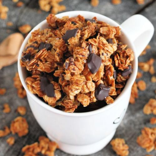 Salted Dark Chocolate Granola