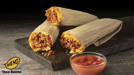 Tamales and Other Tex-Mex Favorites are Back at Taco Bueno for Holiday Season