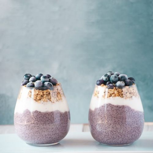 3-Ingredient Blueberry Chia Pudding
