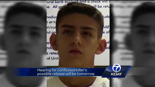 Hearing for confessed killer's possible release will be on Thursday