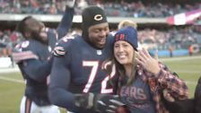 Chicago Bears' Charles Leno Jr. Proposes To Girlfriend After Victory