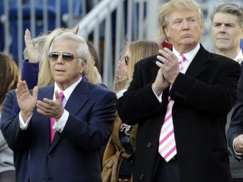 Trump's friend and New England Patriots owner Robert Kraft says he is 'deeply disappointed' with the president's comments