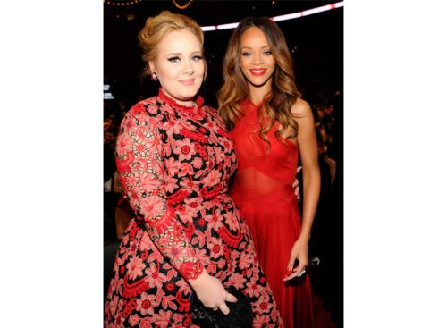 Adele Just Wrote a Heartfelt Love Note to Rihanna, Because Duh