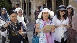Tourism to Israel remains at record levels with 362,000 visitors in February