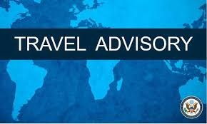 The U.S. State Department issued a Level 3 Travel Advisory