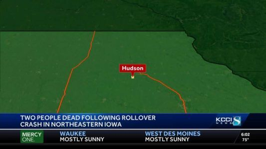 2 killed in rollover off county road