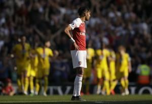 Arsenal top-4 bid dented by 3-2 home loss to Crystal Palace