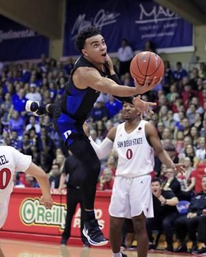 The Latest: No. 1 Duke outlasts No. 8 Auburn 78-72 in Maui