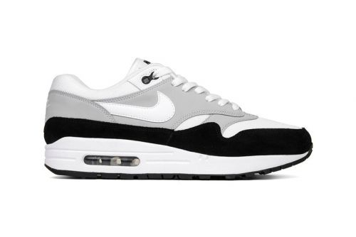 "Nike Combines ""Wolf Grey"" With Black & White Accents on New Air Max 1 Model"