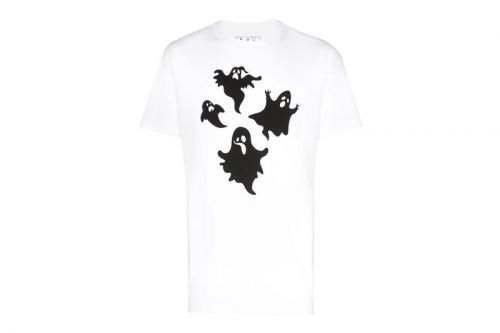 Off-White™ Goes Paranormal With Its Ghost Print T-Shirt