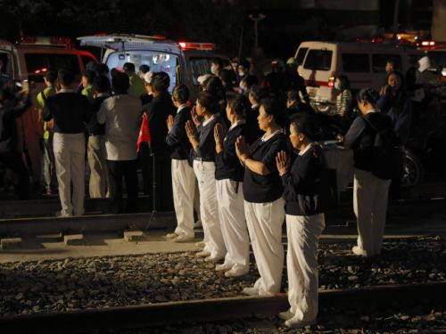 'They died right away': Taiwan train derails on popular weekend route, killing 22 and injuring 171