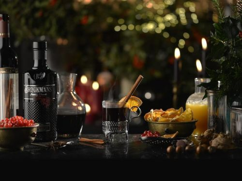 Warm Winter Mull with Gin