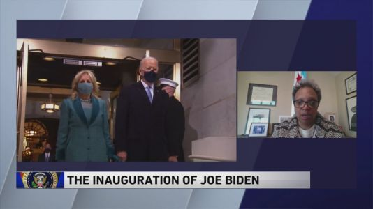 'I'm excited about the possibilities:' Lightfoot said she is hopeful as Biden Administration begins