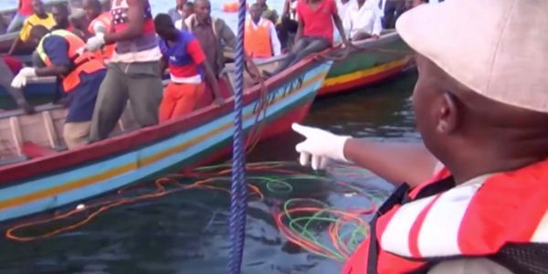 More than 130 dead after Tanzania ferry disaster, scores feared missing