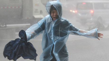 Hong Kong on highest typhoon alert as Mangkhut wreaks havoc in southern China