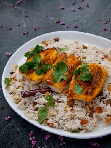 Spicy Kerala Baked Fish