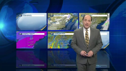 Watch: Heavy snow expected