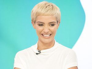Frankie Bridge Makes Some Very Cheeky Comments About Husband Wayne