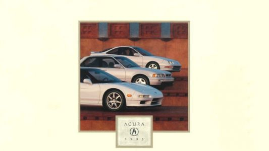 This 1995 Acura Brochure Is Untarnished Beauty