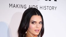 Kendall Jenner Is A Cotton Candy Confection In Seriously Pouffy Gown