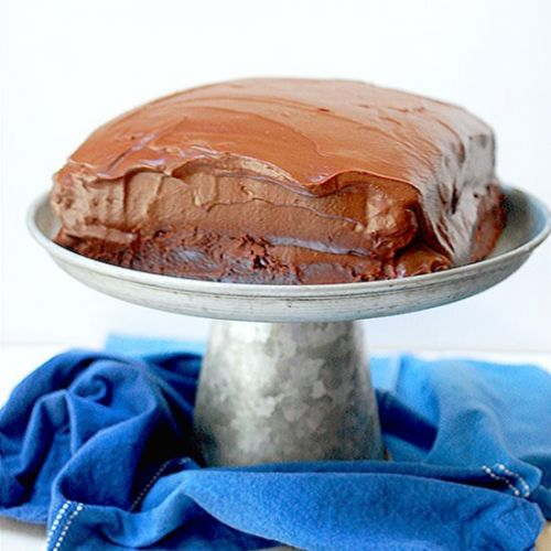 Wellesley chocolate fudge cake