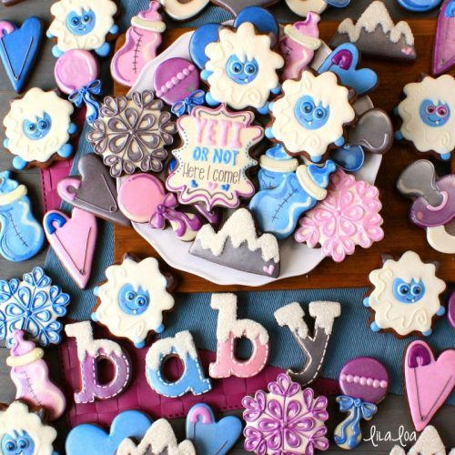How To Make Decorated Graphic Design Style Baby Bottle Sugar Cookies