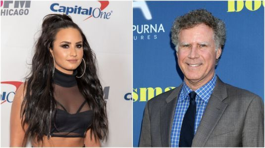 Demi Lovato and Will Ferrell Reveal They're Working on a New Movie Together in Sweet Video