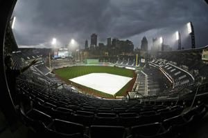 Pirates and Brewers rained out