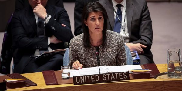 Nikki Haley says the US holds Russia 'responsible' for nerve-agent attack in the UK