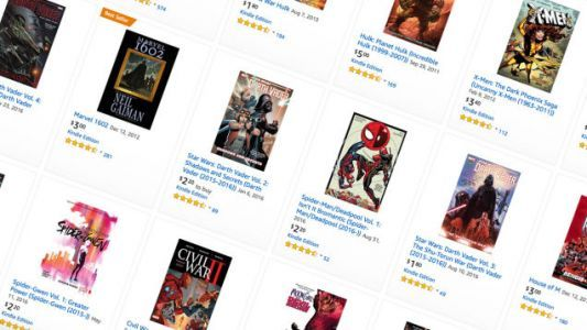 Amazon's Selling Thousands of Marvel Digital Comics For a Few Bucks Each, For Some Reason