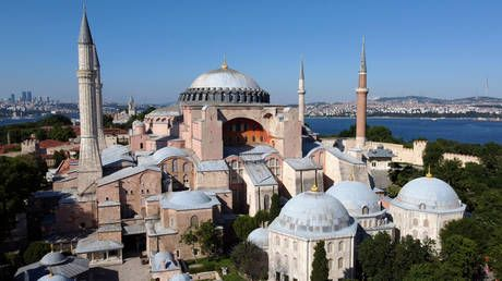 Turkish court paves way to turn Instanbul's Hagia Sofia into mosque after ruling conversion to museum was unlawful