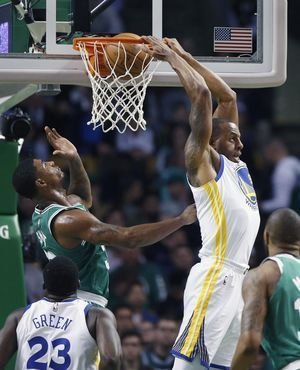 After friend's death, Brown fuels Celtics win over Warriors