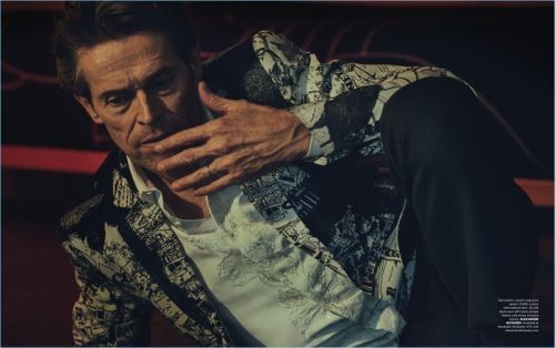 Willem Dafoe Covers Essential Homme, Reflects on Career