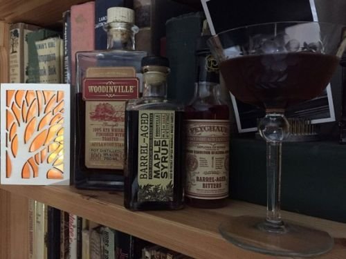 What I'm Drinking: New Trees, Old Trees with Woodinville Whiskey Rye and MapleSyrup