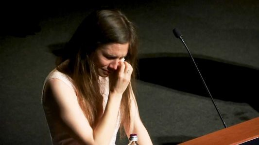 'I am not a monster, I simply am Amanda,' says Knox on tearful return to Italy