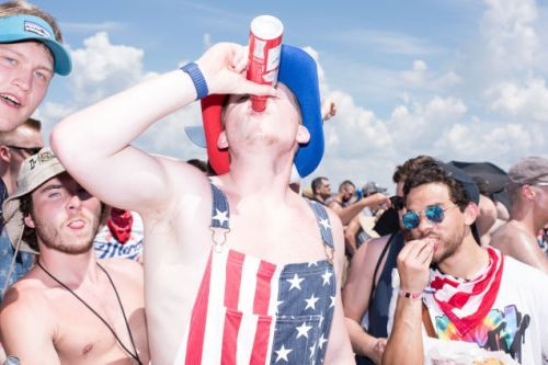 Hell Is Real, And It's The Infield Of The Indy 500
