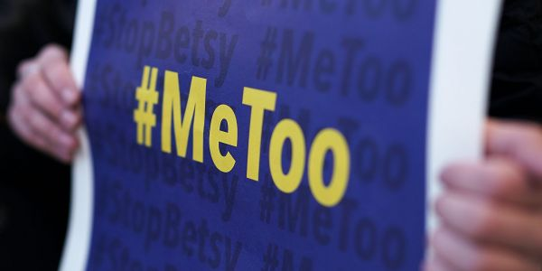 A writer named on a Google spreadsheet of media men accused of sexual misconduct is suing the woman who created it