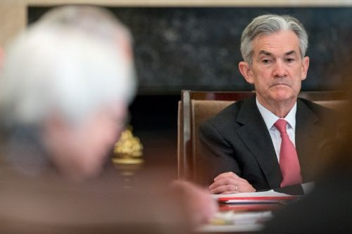 Federal Reserve raises interest rate as Powell makes debut
