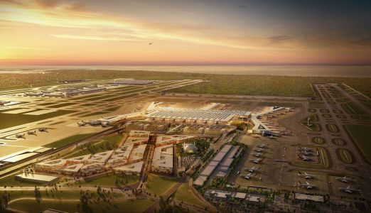 A new $11.7 billion airport just opened in Turkey and it could become one of the world's biggest. Take a look inside the giant hub
