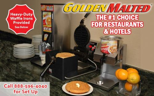 Add the 1 Rated Hotel & Restaurant Waffle to Your Menu - It's Easy with Golden Malted