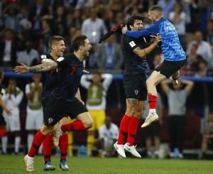Famous dive in last France-Croatia World Cup match