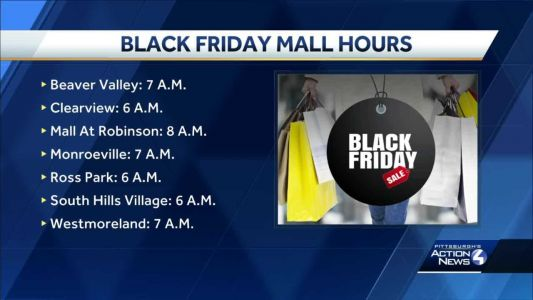 Black Friday looks different for Pittsburgh-area shoppers this year